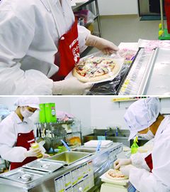 冷凍ピザ OEM/PB事業
