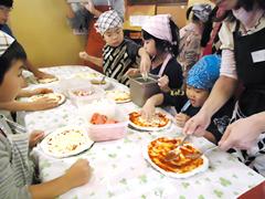 手作りピザ教室