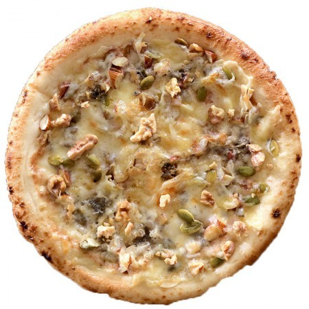 蜂蜜クラッシュナッツのピザ(はちみつ付)
