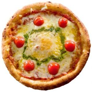 たっぷりチーズのマルゲリータ