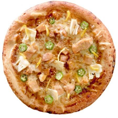 合馬の筍と豊後どりのピザ