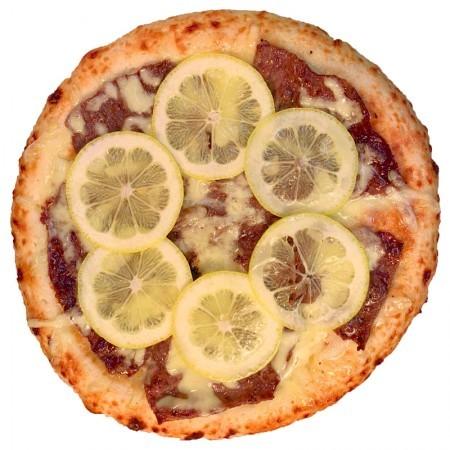 レモンステーキピザ