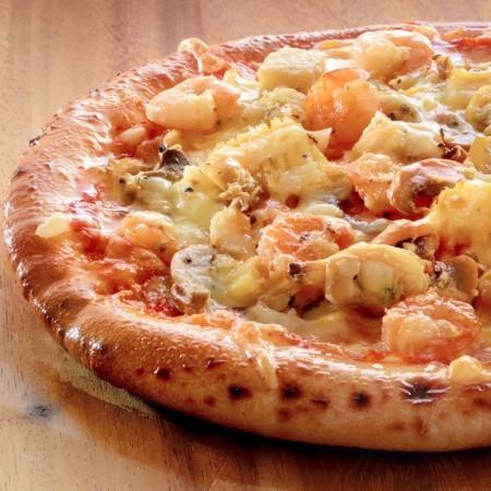 海の幸たっぷりピザ